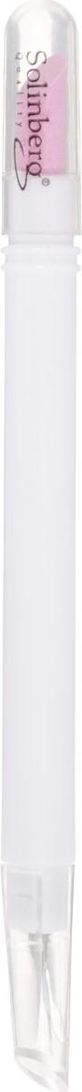Solinberg Пилка керамическая двусторонняя, с триммером, цвет: белый, 12 см
