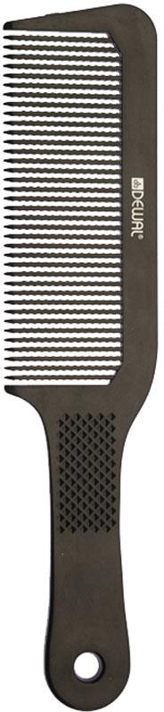 Dewal Расческа для стрижки под машинку, цвет: черный, 22 см