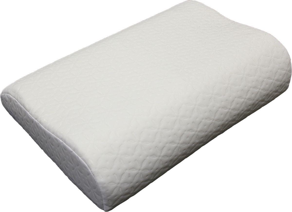 EcoSapiens Ортопедическая подушка с эффектом памяти Memory, 50 x 32 x 10 см - Аптека