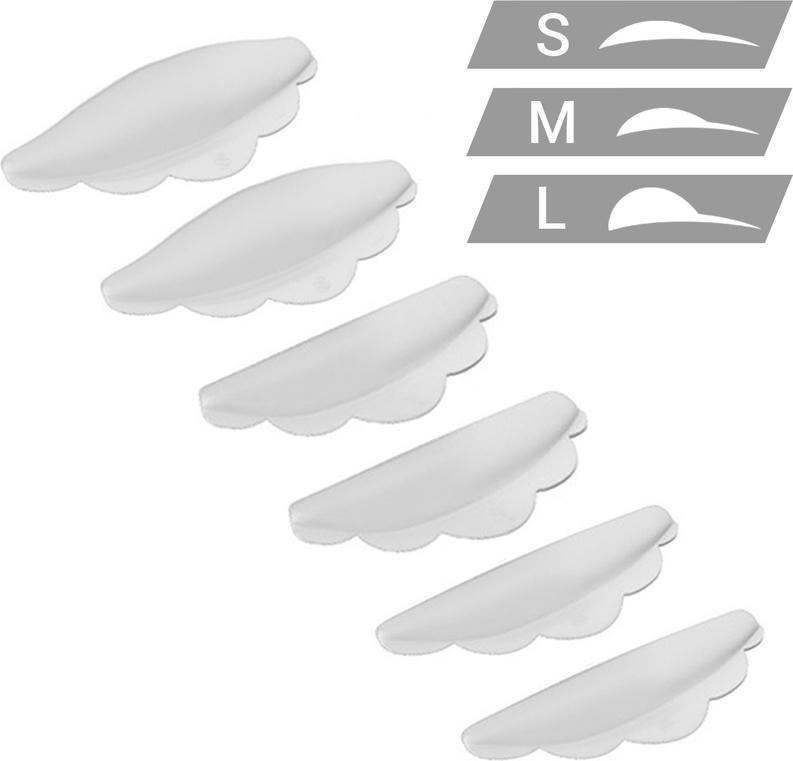 Sexy Lashes Набор силиконовых валиков, 3 размераSC-00053Набор валиков силиконовых (3 размера) из 100% медицинского силикона.