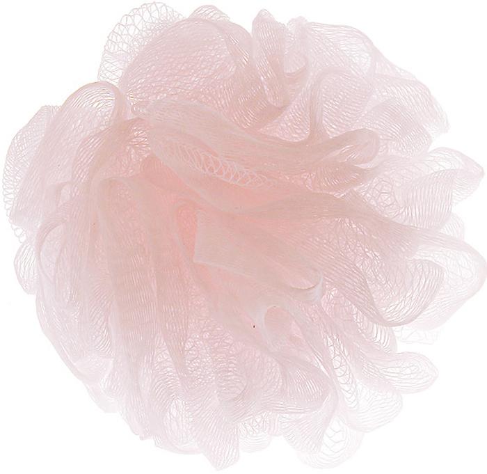 """Riffi Мочалка-губка """"Массажный цветок"""", средняя, цвет: светло-розовый. 343"""
