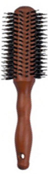 Dewal Расческа круглая из дерева с натуральной щетиной. BRW508CNBRW508CNВ ассортименте торговой марки Dewal имеются расчески на все случаи жизни, с помощью которых можно выполнять стрижки, укладки, модельные причёски и другие манипуляции с волосами. Вообще расческа для волос считается для парикмахера самым простым, но при этом незаменимым инструментом. Брашинг круглой формы скомбинированной щетиной( натуральная щетина + пластиковый штифт)обеспечивает более идеальное вытягивание волос(также для выпрямления вьющихся волос),эргономичная ручка создает дополнительное удобство при формировании прически. Продувная. Продуманная конструкция, эргономичный дизайн обеспечивают комфортную работу парикмахера. Расчёски с лёгкостью скользят по волосам, удобно ложатся в руку. Товар сертифицирован.