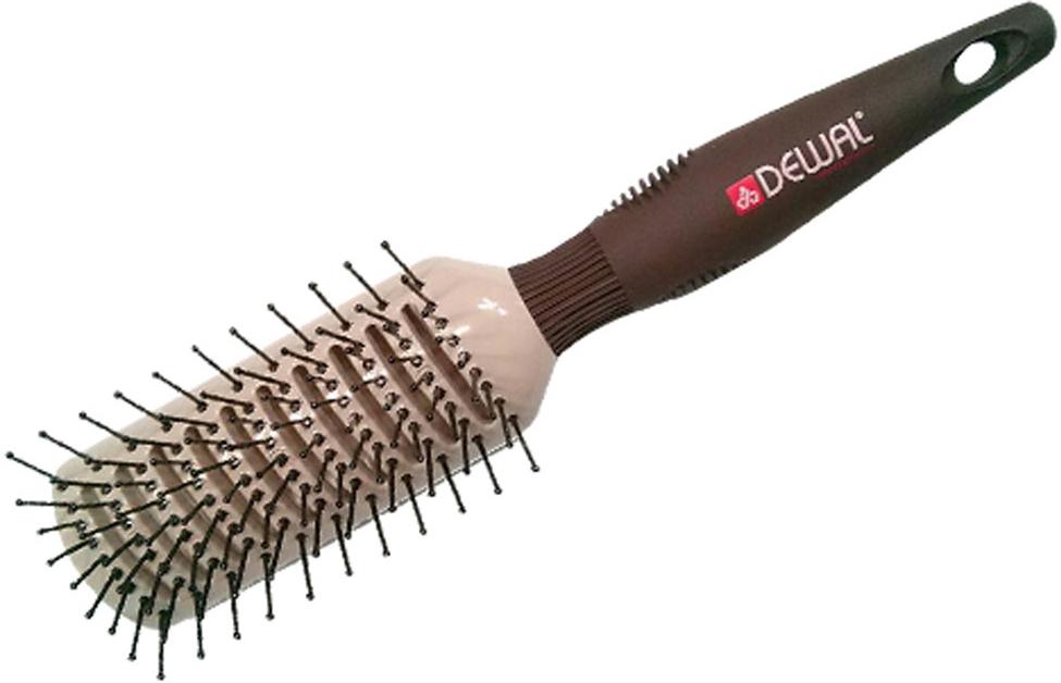 Dewal Расческа тунннельная Mocca с керамическим покрытием. BRM203BRM203В ассортименте торговой марки Dewal имеются расчески на все случаи жизни, с помощью которых можно выполнять стрижки, укладки, модельные причёски и другие манипуляции с волосами. Вообще расческа для волос считается для парикмахера самым простым, но при этом незаменимым инструментом. Щетка туннельная с пластиковым штифтам идеальна для расчесывания любых волос, выпрямления волос. Уникальность этой щетки в том, что рабочая поверхность с керамическим покрытием и антистатическим эффектом!!! Продуманная конструкция, эргономичный дизайн и обеспечивают комфортную работу парикмахера. Расчёски с лёгкостью скользят по волосам, удобно ложатся в руку. Товар сертифицирован.