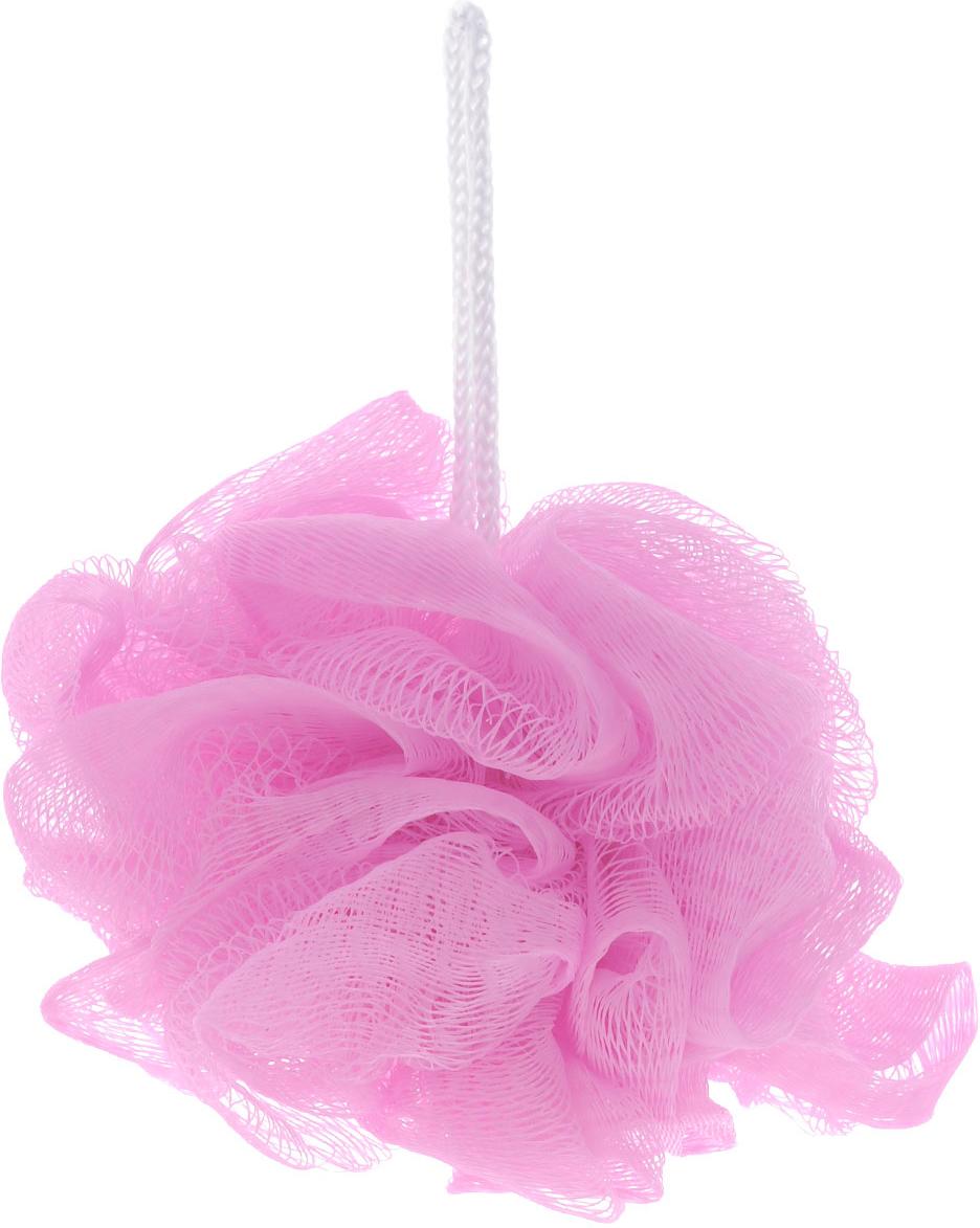 Мочалка The Body Time, цвет: розовый57198_розовыйМочалка The Body Time, выполненная из нейлона, предназначена для мягкого очищения кожи. Она станет незаменимым аксессуаром ванной комнаты. Мочалка отлично пенится, обладает легким массажным воздействием, идеально подходит для нежной и чувствительной кожи.На мочалке имеется удобная петля для подвешивания.Диаметр: 10 см.