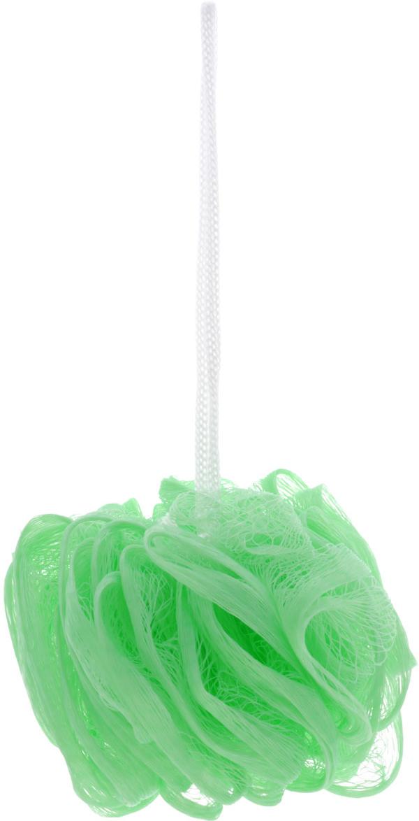 Мочалка The Body Time, цвет: светло-зеленый57198_салатовыйМочалка The Body Time, выполненная из нейлона, предназначена для мягкого очищения кожи. Она станет незаменимым аксессуаром ванной комнаты. Мочалка отлично пенится, обладает легким массажным воздействием, идеально подходит для нежной и чувствительной кожи.На мочалке имеется удобная петля для подвешивания.Диаметр: 10 см.