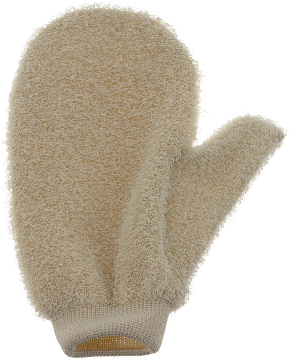 Riffi Мочалка-рукавица массажная, жесткая, бежевый750_бежевыйЖесткая мочалка-рукавица Riffi используется для мытья тела, обладает активным пилинговым действием, тонизируя, массируя и эффективно очищая вашу кожу. Интенсивный и пощипывающе свежий массаж с применением Riffi оживляет кожу, активирует кровоснабжение и улучшает общее самочувствие. Благодаря отшелушивающему эффекту освобождает кожу от отмерших клеток, делает ее гладкой, упругой и свежей. Приносит приятное расслабление всему организму. Эффективно предупреждает образование целлюлита. Характеристики: Материал:50% полиэтилен, 50% полиэстер. Размер мочалки:17 см х 22 см. Артикул:750. Товар сертифицирован.