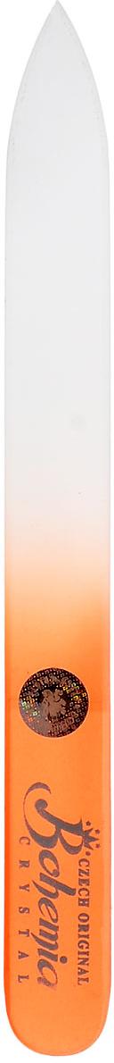 Пилка стеклянная Bohemia 1202bm , в замшевом чехле, длина 12см.cz233-1202вм_оранжевыйПилка стеклянная Bohemia 1202bm , в замшевом чехле, длина 12см.Как ухаживать за ногтями: советы эксперта. Статья OZON Гид