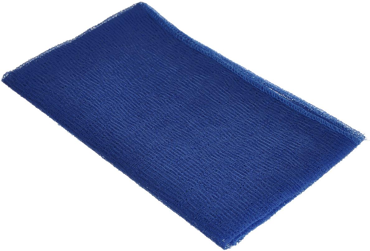 Мочалка-полотенце массажная Eva, цвет: синий, 90 х 30 смМ341_синийМочалка-полотенце массажная Eva, изготовленная из скраб-нейлона (многоволокнистой нейлоновой нити с объемным плетением), обладает высоким массажным эффектом. Мочалка с самым высоким уровнем жесткости обладает эффектом скраба, кожа становится чистой, упругой и свежей. Идеальна для профилактики и борьбы с целлюлитом.