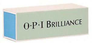 OPI Полировочный блок BrillianceFI156Натуральные и искусственные ногти засверкают ярко и быстро без излишних усилий. Зеленая сторона удалит дефекты и неровности, белая сторона отполирует до бриллиантового блеска. -Блестящий завершающий этап маникюра- Быстро полирует искусственные и натуральные ногти до зеркального блеска -Не повреждает ногти и кутикулуИсключает применение масел при полировке. Масло портит пилки и баффы!Как ухаживать за ногтями: советы эксперта. Статья OZON Гид