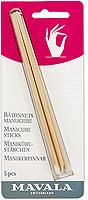 Палочки Mavala для маникюра, 5 шт mavala manicure sticks палочки для маникюра manicure sticks палочки для маникюра