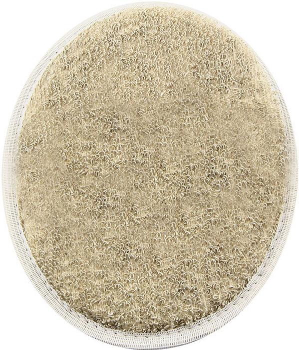 Мочалка овальная Eva. М41М41Мочалка, выполненная из волокон льна, обладает бактерицидными свойствами. Хорошо пенится. На одной из сторон имеется лента, благодаря которой мочалку удобно держать в руке. Мочалка с мягким уровнем жесткости обладает эффектом деликатного массажа, который обеспечивает бережный уход за чувствительной кожей. Тонизирует, массирует, очищает. Не вызывает аллергии. Характеристики: Материал: лен, хлопок, поролон. Размер мочалки: 18 см х 14,5 см.Уровень жесткости: мягкий. Производитель: Россия. Артикул: М41.