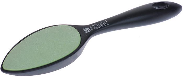 Zwilling Шлифовка для огрубевшей кожи, керамическая, цвет: черный. 78716-30178716-301Керамическая шлифовка для огрубевшей кожи Zwilling изготовлена из керамики и пластика. Предназначена для удаления мозолей и огрубевшей кожи на ступнях. Шлифовка имеет грубую и мелкую шероховатые керамические поверхности, которые долгое время остаются острыми и не представляют никакой опасности, даже для диабетиков.Уход: Инструмент предохранять от падения на пол. Использовать только по назначению! Хранить в недоступном для детей месте. Характеристики: Материал: керамика. Длина: 23 см. Размер упаковки (ДШВ): 25,5 см х 7 см х 3 см. Производитель: Германия. Артикул:78716-301. Товар сертифицирован.Как ухаживать за ногтями: советы эксперта. Статья OZON Гид