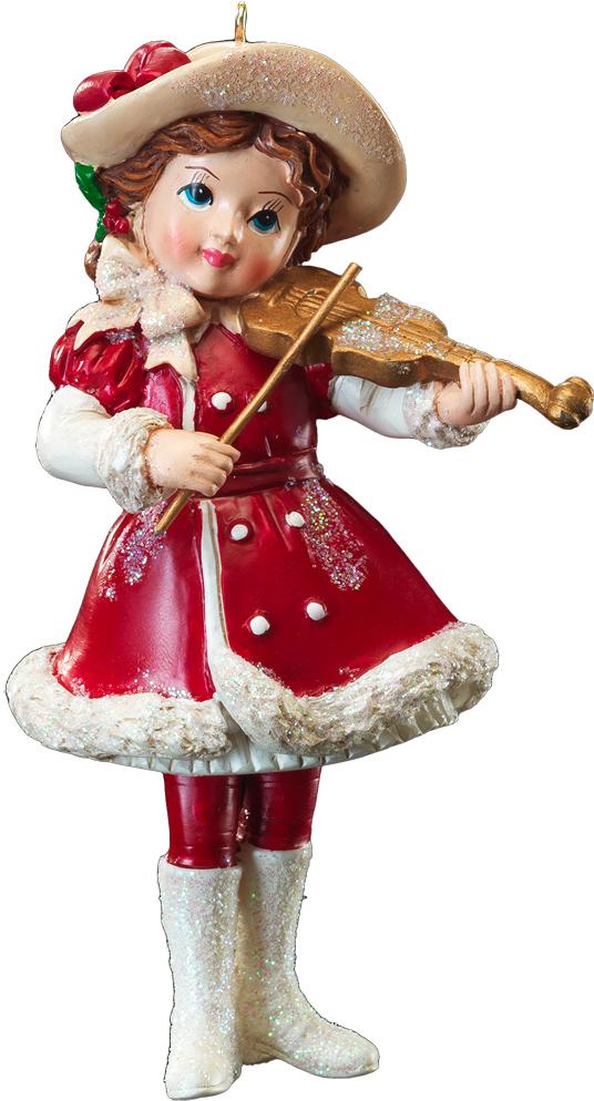 Украшение для интерьера новогоднее Erich Krause Юный музыкант. Девочка и скрипка, 11 см. 4121041210_девочка, скрипкаНовогодние украшения всегда несут в себе волшебство и красоту праздника. Создайте в своем доме атмосферу тепла, веселья и радости, украшая его всей семьей.