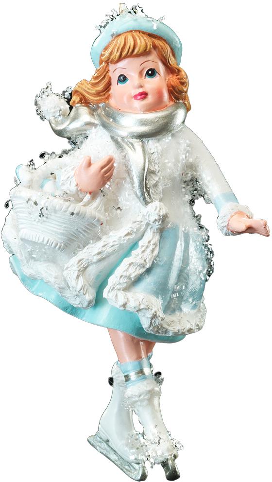 Украшение для интерьера новогоднее Erich Krause Танцы на льду. Девочка и корзина, 11 см41171_девочка, корзинаТема дети на Рождество подчеркнуто перекликается с персонажами сказки Снежная Королева. Новогодние украшения всегда несут в себе волшебство и красоту праздника. Создайте в своем доме атмосферу тепла, веселья и радости, украшая его всей семьей.