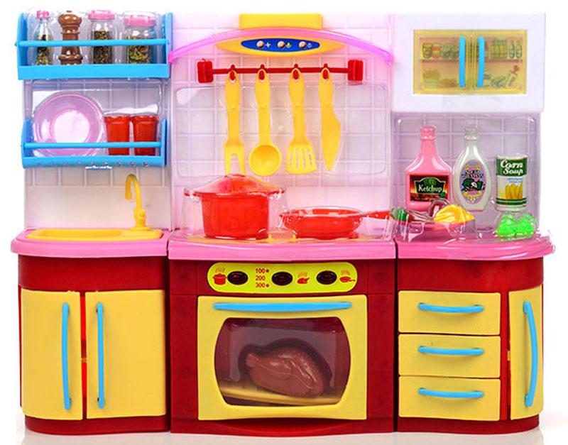 DollyToy Мебель для кукол Мини-кухня Вид 2 мебель для больших кукол до 30 см спальня мечта м 008