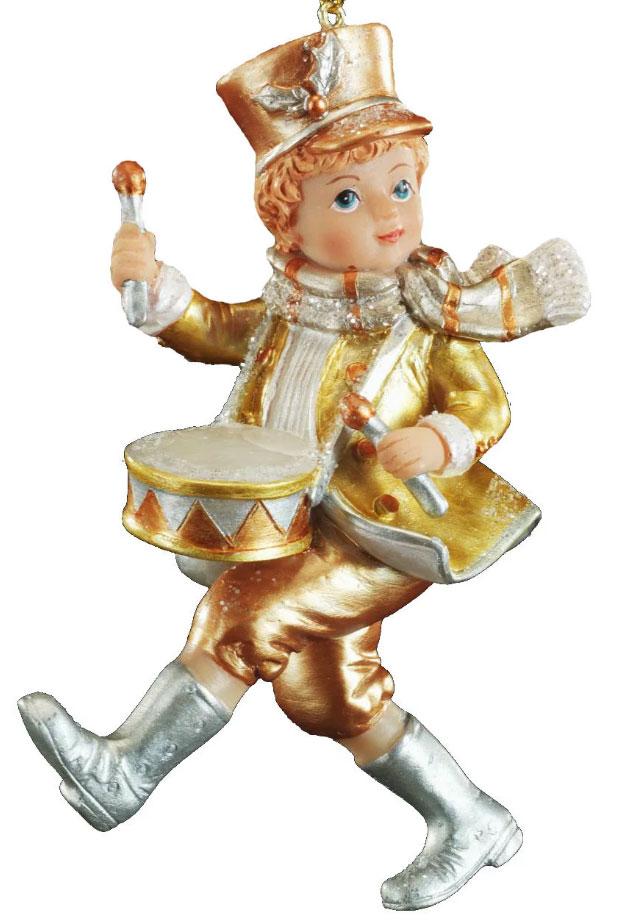 Украшение для интерьера новогоднее Erich Krause Новогодняя мелодия. Барабанщик, 11 см43883_барабанщикДизайнерское украшение в виде барабанщика впечатляет яркими деталями костюма ипраздничным образом.Новогодние украшения всегда несут в себе волшебство и красотупраздника. Создайте в своем доме атмосферу тепла, веселья и радости, украшая его всейсемьей.