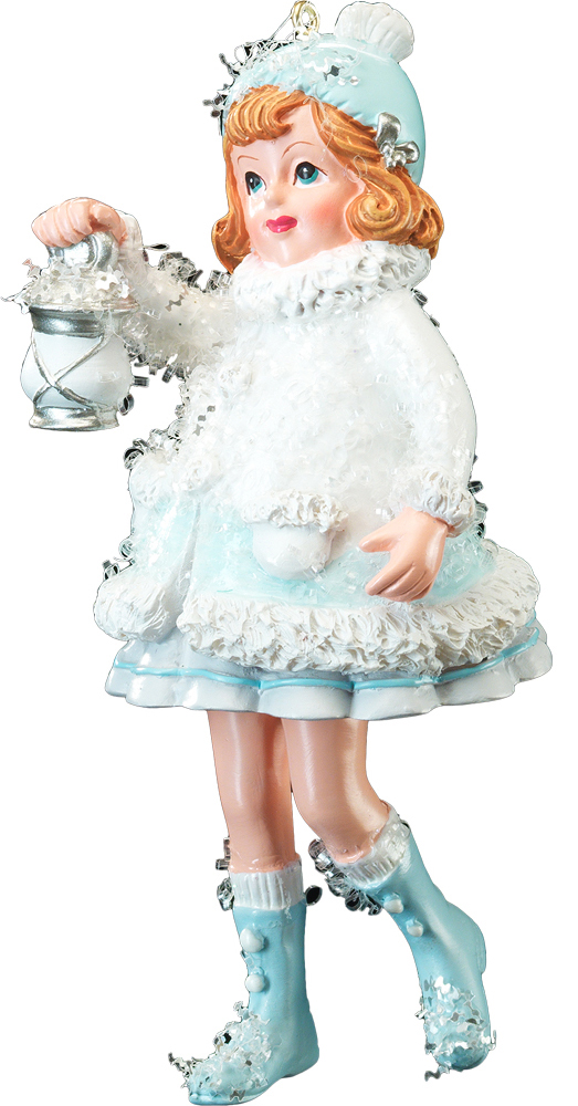 Украшение для интерьера новогоднее Erich Krause Снежная прогулка. Девочка и фонарь, высота 12 см41170_девочка, фонарьТема дети на Рождество подчеркнуто перекликается с персонажами сказки Снежная Королева. Новогодние украшения всегда несут в себе волшебство и красоту праздника. Создайте в своем доме атмосферу тепла, веселья и радости, украшая его всей семьей.