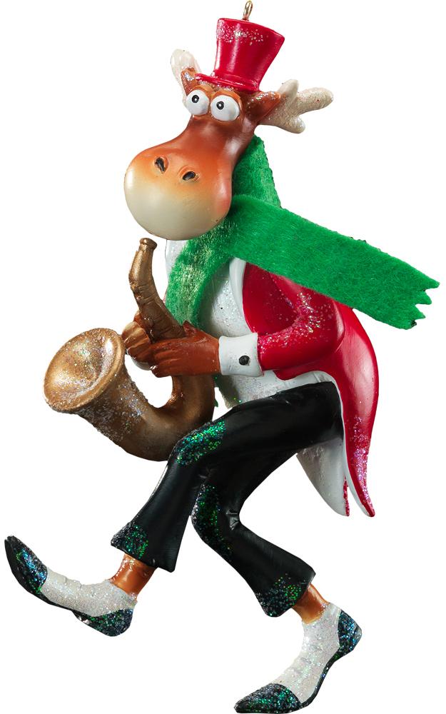 Украшение новогоднее подвесное Erich Krause Безудержное веселье. Саксофон, высота 12,5 см41091_саксофонНовогодние украшения всегда несут в себе волшебство и красоту праздника. Создайте в своем доме атмосферу тепла, веселья и радости, украшая его всей семьей.