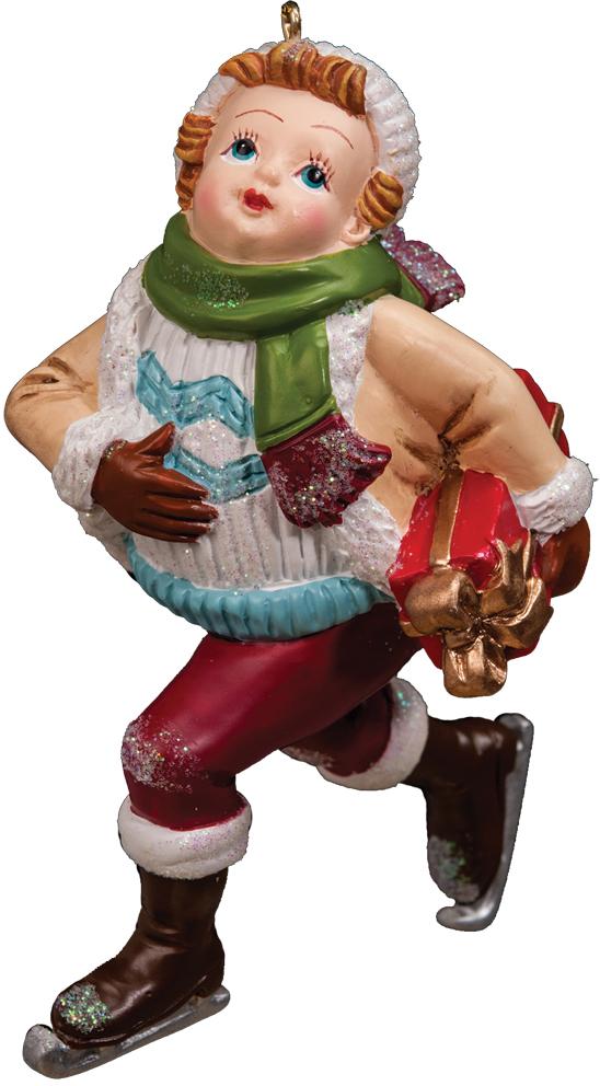 Украшение для интерьера новогоднее Erich Krause Танцы на льду, цвет: красный, бежевый, 10,5 см36453_красный, бежевыйУкрашения рождественской тематики в ретро-стиле впервые были представлены нами в 2011 году и сразу метнулись на первые строчки рейтинга. Проверенное годами, это направление не теряет своей актуальности. В Европе данные украшения также пользуются большим спросом. Новогодние украшения всегда несут в себе волшебство и красоту праздника. Создайте в своем доме атмосферу тепла, веселья и радости, украшая его всей семьей.