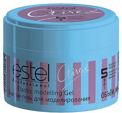Estel Airex Эластик-гель для моделирования - пластичная фиксация 75 млAEG75Эластик - гель для моделирования применяется для легкого и эффектного креативного моделирования. Благодаря натуральным растительным компонентам придает пластичную фиксацию волосам, обеспечивает натуральный блеск. В результае пластичная суперсильная фиксация, эффектная форма прически.
