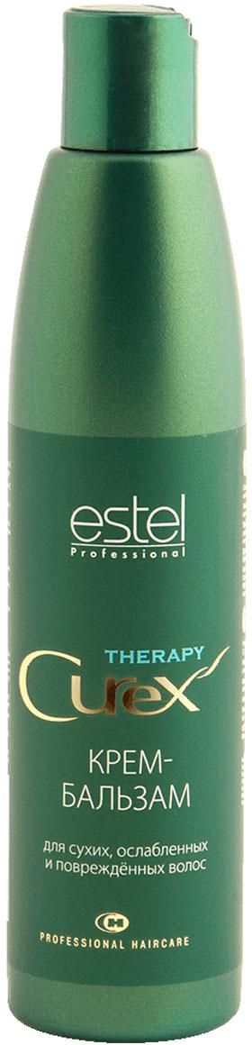 Estel Curex Therapy Крем-бальзам для поврежденных, ослабленных и сухих волос 250 млCU250/B18Estel Curex Therapy Крем-бальзам для поврежденных, ослабленных и сухих волос содержит витамин Е, восстанавливающий и укрепляющий структуру волос. Обладает прекрасным кондиционирующим эффектом. Натуральные компоненты бетаин и масло жожоба увлажняют волосы и способствуют сохранению гидробаланса. В результате волосы легко расчёсываются.
