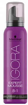 Igora Expert Mousse Тонирующий мусс для волос 8-1 Светлый русый сандрэ 100 мл