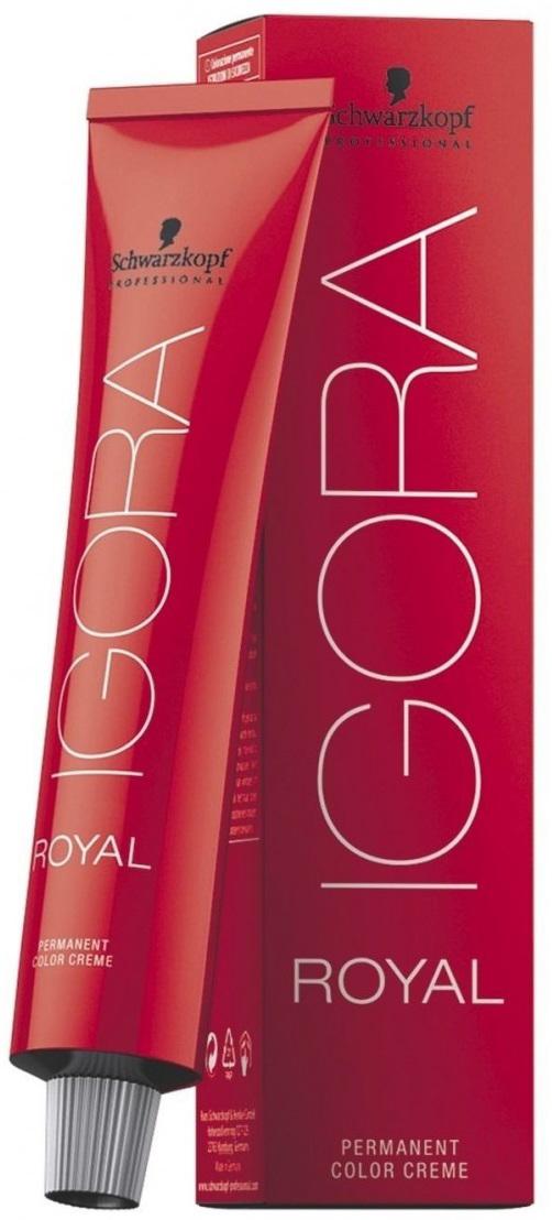 Igora Royal Перманентный краситель для волос 6-00 темно-русый натуральный экстра 60 мл