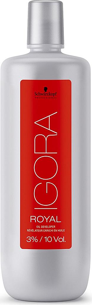 Igora Royal Лосьон-окислитель 3% 1000 мл781944Лосьон-окислитель для применения со всем ассортиментом Igora Royal и осветляющим порошком Igora Vario Blond Plus.3%