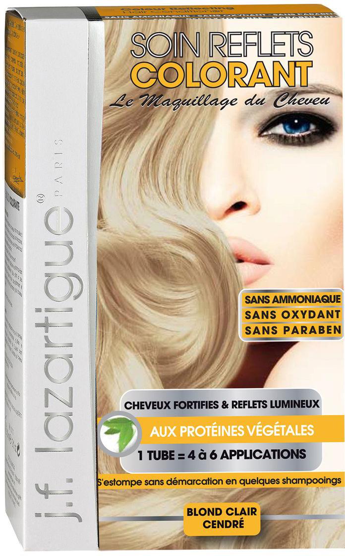 J.F.Lazartigue Оттеночный кондиционер для волос Светло-пепельный блондин 100 млA5776027Оттеночный кондиционер J.F.LAZARTIGUE – это лечебный макияж для Ваших волос. Два эффекта: кондиционирование волос и легкий оттенок. Особенности: придает новый или более теплый (или холодный) оттенок, делает тон темнее или акцентирует цвет, оживляет естественный цвет или придает яркость тусклым и выцветшим на солнце волосам. Закрашивает небольшой процент седины! После мытья волос шампунем (3-6 раз) смывается. Для достижения индивидуального оттенка можно смешать два разных кондиционера: добавить к выбранному ТЕМНЫЙ РЫЖИЙ (Auburn), МЕДНЫЙ (Copper) и т.п. Не осветляет волосы. Не содержит аммиака и перекиси водорода. Не содержит парабенов. Не предназначен для окрашивания бровей и ресниц.