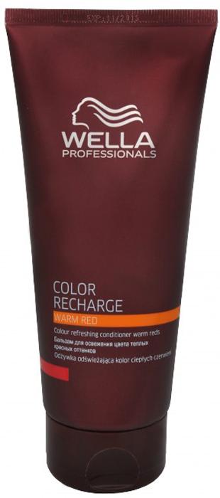 Wella Бальзам для освежения цвета Color Recharge теплых красных оттенков, 200 мл253080Бальзам для освежения цвета теплых красных оттенков Color Recharge поможет вашим волосам выглядеть яркими и насыщенными. Состав средства обогащен целым комплексом активых ингредиентов, которые интенсивно питают волосы, делая их мягкими и блестящими. Специальные цветовые пигменты в составе бальзама помогают цвету оставаться насыщенным.