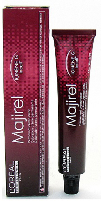 LOreal Professionnel Стойкая крем-краска для волос Majirel, оттенок 5.8 Светлый шатен мокка, 50 млE0915900Oreal Professionnel Majirel Профессиональная перманентная крем-краска для волос обеспечивает легкое нанесение и равномерный насыщенный цвет. Инновационная технология окраски IONEN G + incell гарантирует отличную защиту структуры волос в процессе окрашивания и обеспечивает интенсивный уход за вашими волосами. Краситель Марижель закрашивает седину на 100% и рекомендуется к применению для любых типов волос.
