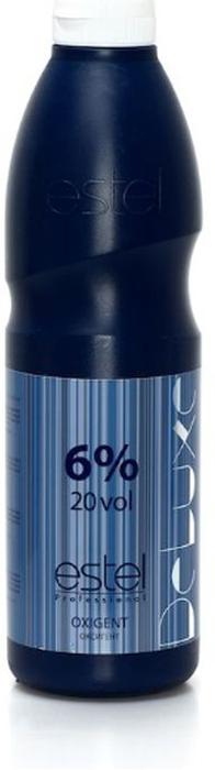 Estel Оксигент De Luxe 6%, 900 млLO 6/900Оксид Эстель Де Люкс 6 % – это универсальный активатор, прекрасно сочетающийся со всеми крем-красками и обесцвечивающими пудрами из серии окрашивания De Luxe от Estel. Продукт имеет приятную густую консистенцию, при соединении с красящими составами образует кремообразную смесь, которая легко распределяется по волосам, не течет и не сохнет в течение всего процесса окрашивания или осветления. Оксигент выпускается в шести концентрациях (1.5%,3%,6%,9% и 12%), что позволяет с легкостью подобрать необходимую интенсивность воздействия как для тонких ослабленных, так и для жестких трудно поддающихся воздействию волос. Формула оксида Estel De Luxe направлена на максимально щадящее воздействие на структуру волос, обогащена увлажняющими и кондиционирующими агентами, которые минимизирую вред наносимый локонам в ходе химического воздействия.Применение: оксид соединить с красящей или осветляющей основой. Нанести на волосы. Время выдержки определяется исходя из состояния волос, проводимой процедуры и желаемого результата. При работе с красками оксид необходимой концентрации смешивается с крем-краской в пропорции 1/1, при работе с осветляющей пудрой – 1/2. Объем: 900 мл