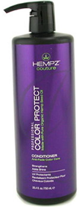 Hempz Шампунь защита цвета окрашенных волос Color Protect Shampoo 750 млОТМ.35/1000Шампунь для защиты цвета окрашенных волос Color Protect Shampoo не содержит сульфатов, обладает мягким и глубоким очищающим действием, на длительное время сохраняет и поддерживает цвет волос в первозданном виде, оберегает их от термического воздействия потоков горячего воздуха и солнечного излучения. Активно предотвращает вымывание цвета, блокирует действие жестких компонентов воды. Color Protect Shampoo не содержит глютенов и парабенов и на 100% состоит из натуральных растительных компонентов.Состав активных компонентов: аминокислоты, масло, протеины, смола и экстракт семян конопли, пантенол, масло подсолнечника, цитрусовая кислота, минеральные соли.