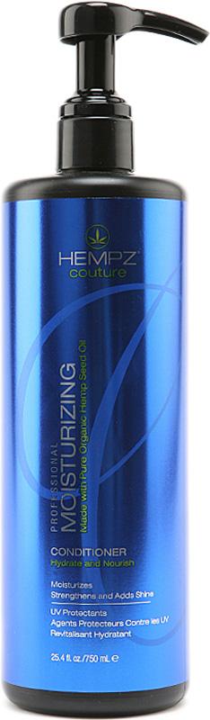 Hempz Кондиционер увлажняющий Moisturizing Conditioner 750 мл676280012295Увлажняющий кондиционер Moisturizing Conditioner придает волосам мягкость и наполняет их живительной силой.Кондиционер на длительное время сохраняет цвет натуральных и окрашенных волос, оберегает их от термического воздействия потоков горячего воздуха и солнечного излучения. Активно предотвращает вымывание цвета, блокирует действие жестких компонентов воды.Moisturizing Conditioner не содержит глютенов и парабенов и на 100% состоит из натуральных растительных компонентов.Состав активных компонентов: конопляный экстракт, конопляное, кукурузное, кунжутное и соевое масло, гидролизированные пшеничные и соевые протеины, производная гуаровой смолы, экстракты настурции, крапивы, арники, розмарина и пантенол.