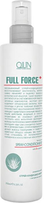 Ollin Увлажняющий спрей-кондиционер с экстрактом алоэ Full Force Anti-Dandruff Moisturizing Spray-Conditioner 250 мл725690Несмываемый спрей-кондиционер восстанавливает эластичность волос, интенсивно увлажняет, наделяет их естественной красотой и делает послушными. Экстракт алоэ, усиленный провитамином B5, способствует восстановлению и интенсивному насыщению волос влагой, а фиталтриол насыщает волосы пантенолом и полезными микроэлементами, благодаря чему они становятся пышными и шелковистыми. Без искусственных красителей. Без парабенов.