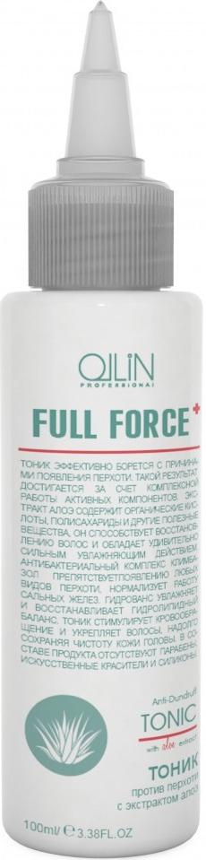 Ollin Тоник против перхоти с экстрактом алоэ Full Force Anti-Dandruff Tonic 100 мл ollin спрей тоник для стимуляции роста волос ollin