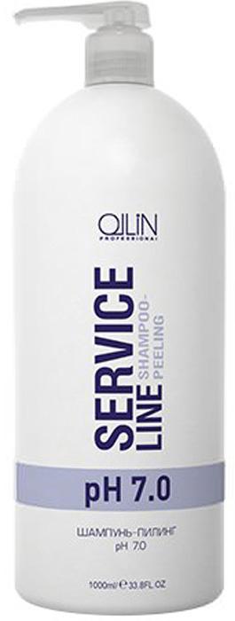 Ollin Шампунь-пилинг рН 7.0 Service Line Shampoo-Peeling Ph 7.0 1000 мл722019Шампунь-пилинг рН 7.0 Ollin Service Line Shampoo-Peeling Ph 7.0 глубоко очищает волосы, удаляет остатки продуктов стайлинга и излишки работы сальных желез. Подготавливает волосы для химической завивки. Оптимально подготавливает волосы для дальнейшей работы, будь то химическая завивка или тонирование . Волосы становятся безупречно чистые и свежие. Активные компоненты: оптимально составленная композиция ПАВ и адсорбентов максимально эффективно, но бережно очищает волосы и кожу головы. D-пантенол способствует сохранению гидробаланса.