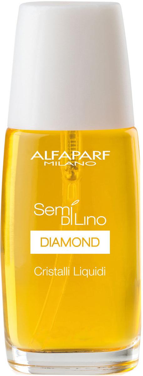 Alfaparf Масло для посеченных кончиков волос, придающее блеск Semi Di Lino Diamond Cristalli Liquidi 30 мл10001Alfaparf Semi DiLino Diamond Cristalli Liquidi Масло для посечённых кончиков волос, придающее блеск избавит от такой неприятной проблемы, как секущихся кончики волос. Масло Alfaparf, обогащённое витамином E, сделает волосы мягкими и послушными, благодаря чему процесс расчёсывания волос станет лёгким и приятным. Микрокристаллы алмаза придадут волосам великолепный, здоровый и интенсивный блеск, а льняное масло надёжно защитит волосы от всех вредных воздействий окружающей среды.Масло Альфапарф Cristalli Liquidi для посечённых кончиков волос сохраняет в волосе влагу и способствует возвращению волосам природной силы.