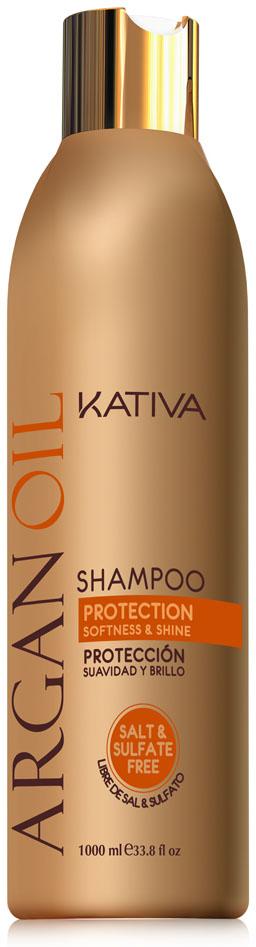 Kativa ARGANA Увлажняющий шампунь с маслом Арганы 250 мл65502147Шампунь, содержащий чистейшее аргановое масло, отлично очищает волосы, придавая им желанную шелковистость.Активные компоненты, входящие в состав шампуня, возвращают волосам силу, увлажняют и разглаживают по всей длине. Шампунь защищает волосы от пересушивания, вызванного влиянием негативных факторов окружающей среды, а также способствует сохранению цвета окрашенных волос.