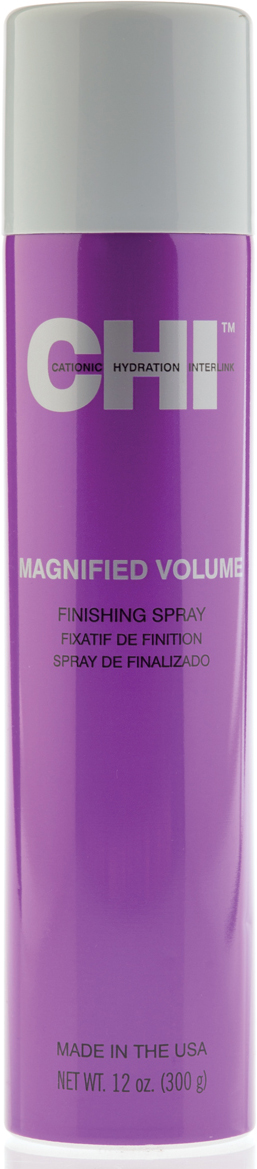 CHI Лак Усиленный объем Magnified Volume 340 г chi magnified volume finishing spray лак чи усиленный объем 300 мл