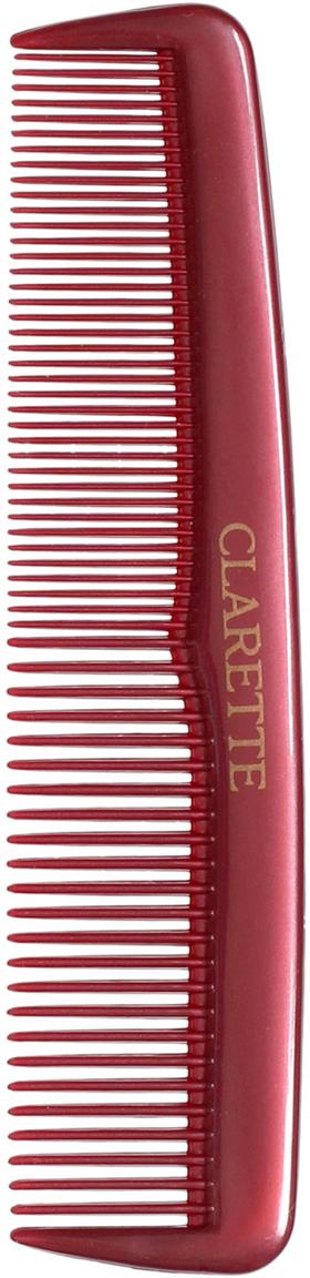 Clarette Расческа для волос карманная, цвет: бордовый