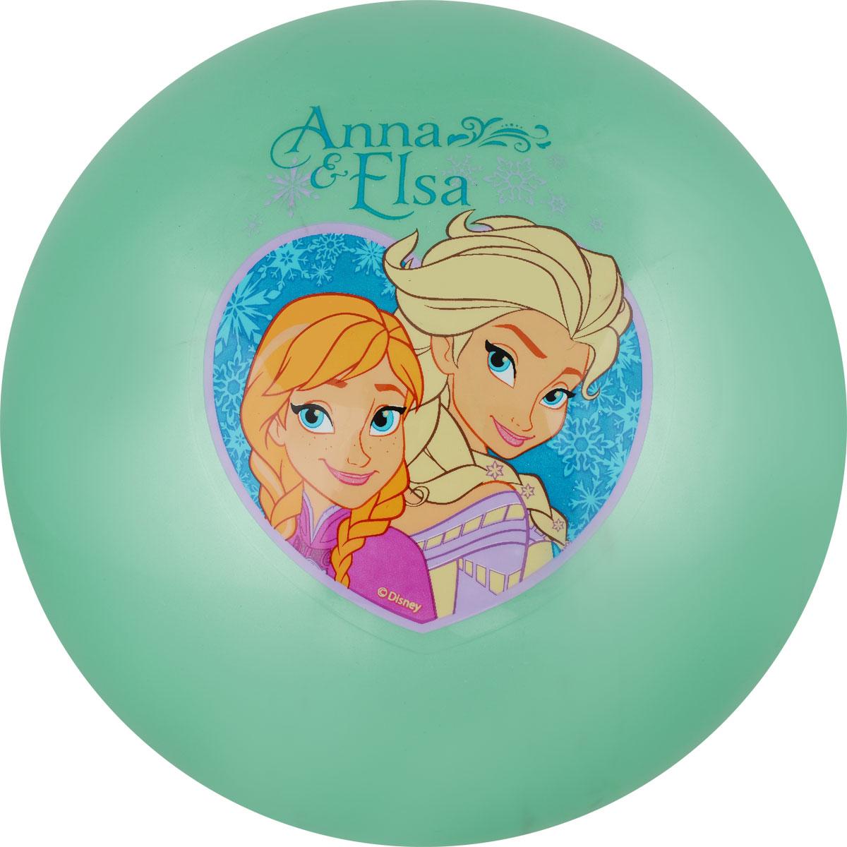 Играем вместе Мяч Холодное Сердце цвет зеленый 23 см