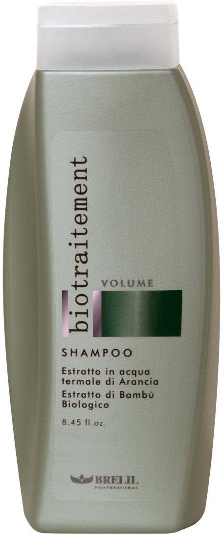 Brelil Шампунь для придания объёма Bio Traitement Volume Shampoo, 250 мл шампунь brelil professional numero volume volumising shampoo