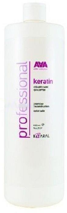 Kaaral Кератиновый шампунь для окрашенных и химически обработанных волос AAA Keratin Color Care Shampoo, 1000 млААА1410Инновационный продукт для ухода за окрашенными и химически обработанными волосами. Состав шампуня обогащен натуральным гидролизованным кератином, что позволяет бережно очищать и ухаживать за сухими, пористыми и поврежденными волосами, возвращая им утраченный блеск и эластичность. Нежная формула шампуня обеспечивает интенсивное увлажнение. Натуральный гидролизованный кератин интенсивно восстанавливает поврежденную структуру волоса как на поверхности, так и в самых глубоких слоях кортекса. Слабокислый уровень pH бережно закрывает кутикулу, предотвращая вымывание цветовых пигментов, что позволяет надолго сохранить блеск и яркость окрашенных волос. Подходит для ежедневного ухода за окрашенными и химически обработанными волосами. Идеально применять в комплексе с Keratin Color Care Conditioner.