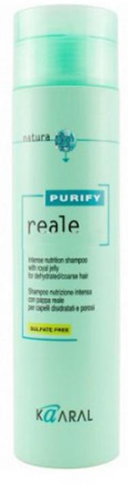 Kaaral Восстанавливающий Реале шампунь для поврежденных волос Purify Reale Intense Nutrition Shampoo, 250 млkaaral1235Восстанавливающий Реале шампунь для поврежденных волос Kaaral Purify Reale Intense Nutrition Shampoo разработан для ухода за сухими, пористыми и поврежденными волосами. Идеален для деликатного очищения кожи и волос с увлажняющим эффектом. Оставляет волосы мягкими и предупреждает дегидратацию волос. Не содержит сульфаты и парабены!