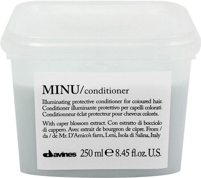 Davines Защитный кондиционер для сохранения косметического цвета волос Essential Haircare New Minu Conditioner, 250 мл marianne suurmaa minu saksamaa