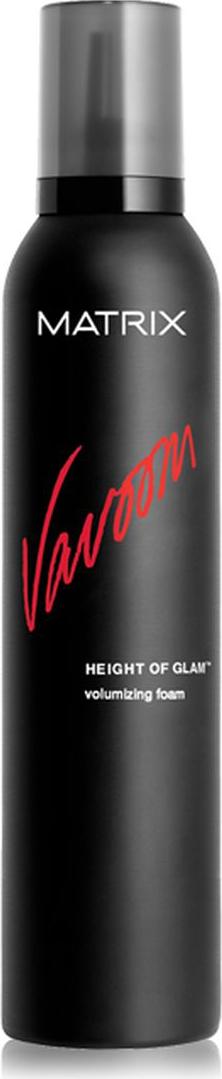 Matrix Vavoom Мусс для объема Height Of Glam, 250 млP0772000Легкий мусс Height Of Glam (Хай Оф Глэм) для создания гламурного объема и блеска волос. Обеспечивает защиту от термовоздействия.