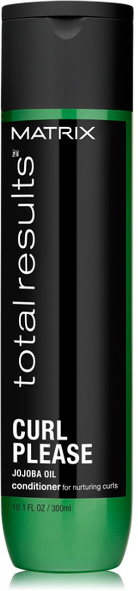 Matrix Total Results Curl Please Кондиционер с питательным маслом семян жожоба, 300 млC51660Кондиционер Curl Please (Кёрл Плиз) с питательным маслом семян плодов Жожоба увлажняет волнистые и кудрявые волосы, предотвращает образование пушистости и создает красивую форму завитка. Если вы не понаслышке знаете о том, сколько усилий требуется, чтобы поддерживать вьющиеся, склонные к сухости локоны в привлекательном состоянии, то средства линии Curl Please идеально подойдут вам. В частности, благодаря кондиционеру этой серии вы навсегда забудете о неухоженных и перепутанных кудрях. Теперь каждая прядь будет лежать на своем месте!