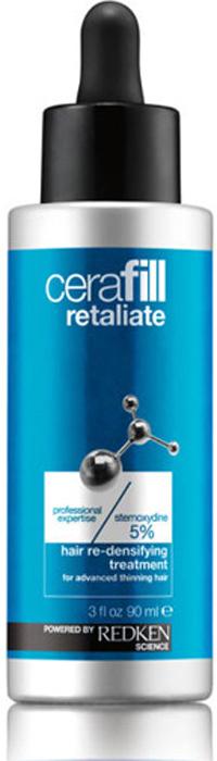 Redken Cerafill Retaliate Ежедневный несмываемый уход для роста волос, 90 мл redken cerafill defy treatment несмываемый уход для кожи головы 125 мл