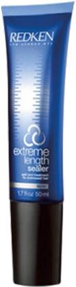 Redken Extreme Length Sealer Восстанавливающй уход для секущихся кочиков, 50 млP1030300Восстанавливающй уход для секущихся кочиков с биотином и аргинином для восстановления и ускорения роста волос.Помогает предотвратить ломкость волос и раскрыть потенциал роста волос до 15 см за 12 месяцев в год.Разработан на основе системы Redken Interlock Protein Network и Fortifying Complex.